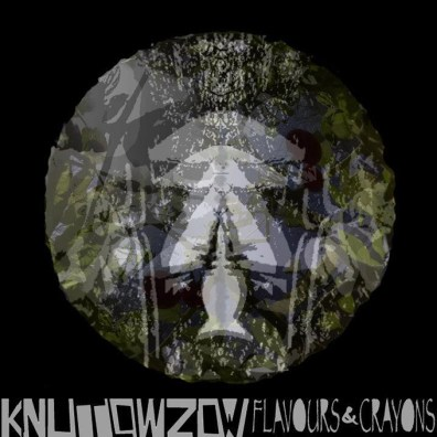"""Ep Cover Knut Lowzow """"Flavours & Crayons"""" : Design Knut Lowzow"""