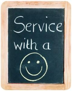 Service with a smile, PR für Medizin, Technik und Recht