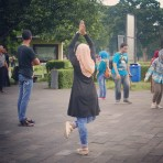 Yogyakarta Java Prambanan - tourist 3