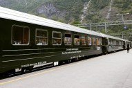 Flåm , Norway 5 - train
