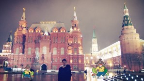 Red Square Night 3