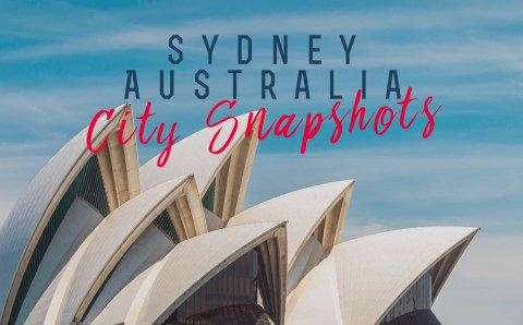 Sydney, City Snapshots