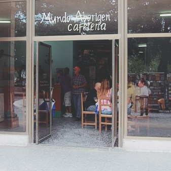 A local cafe