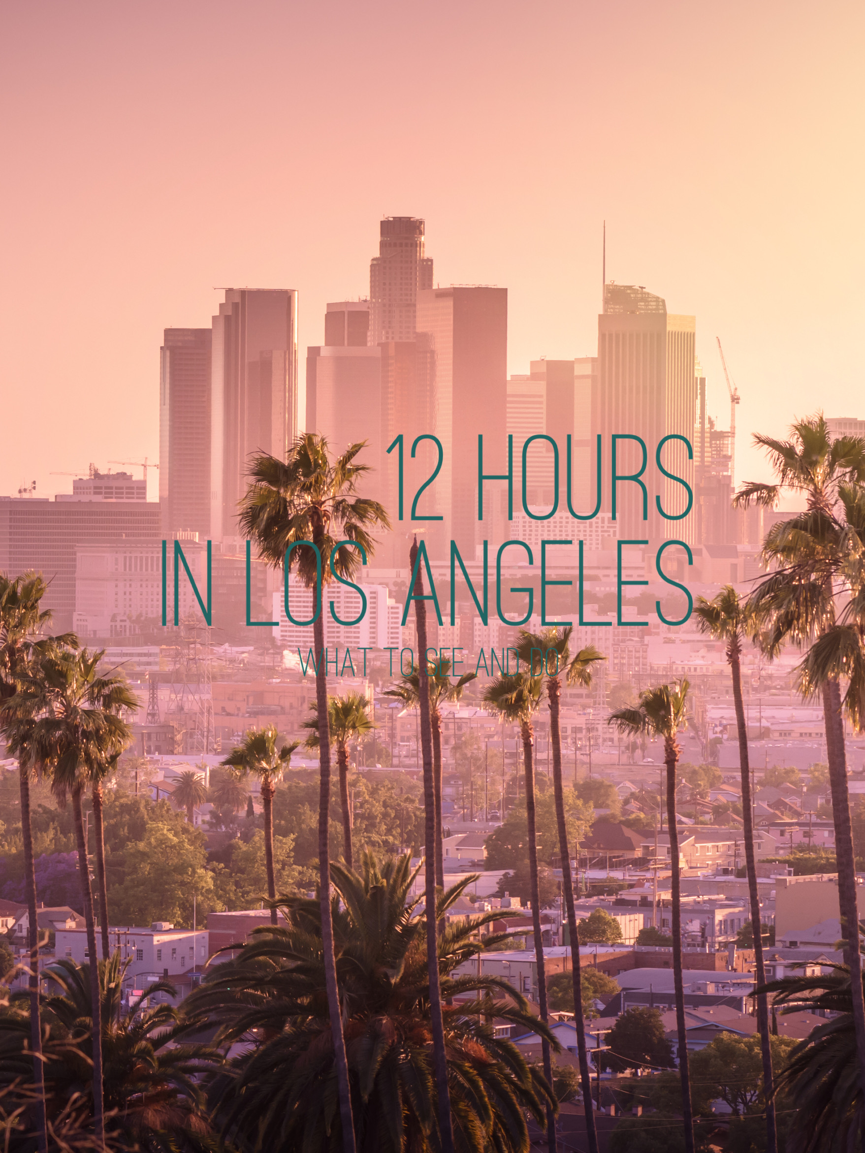 12 hours in the Los Angeles Downtown…