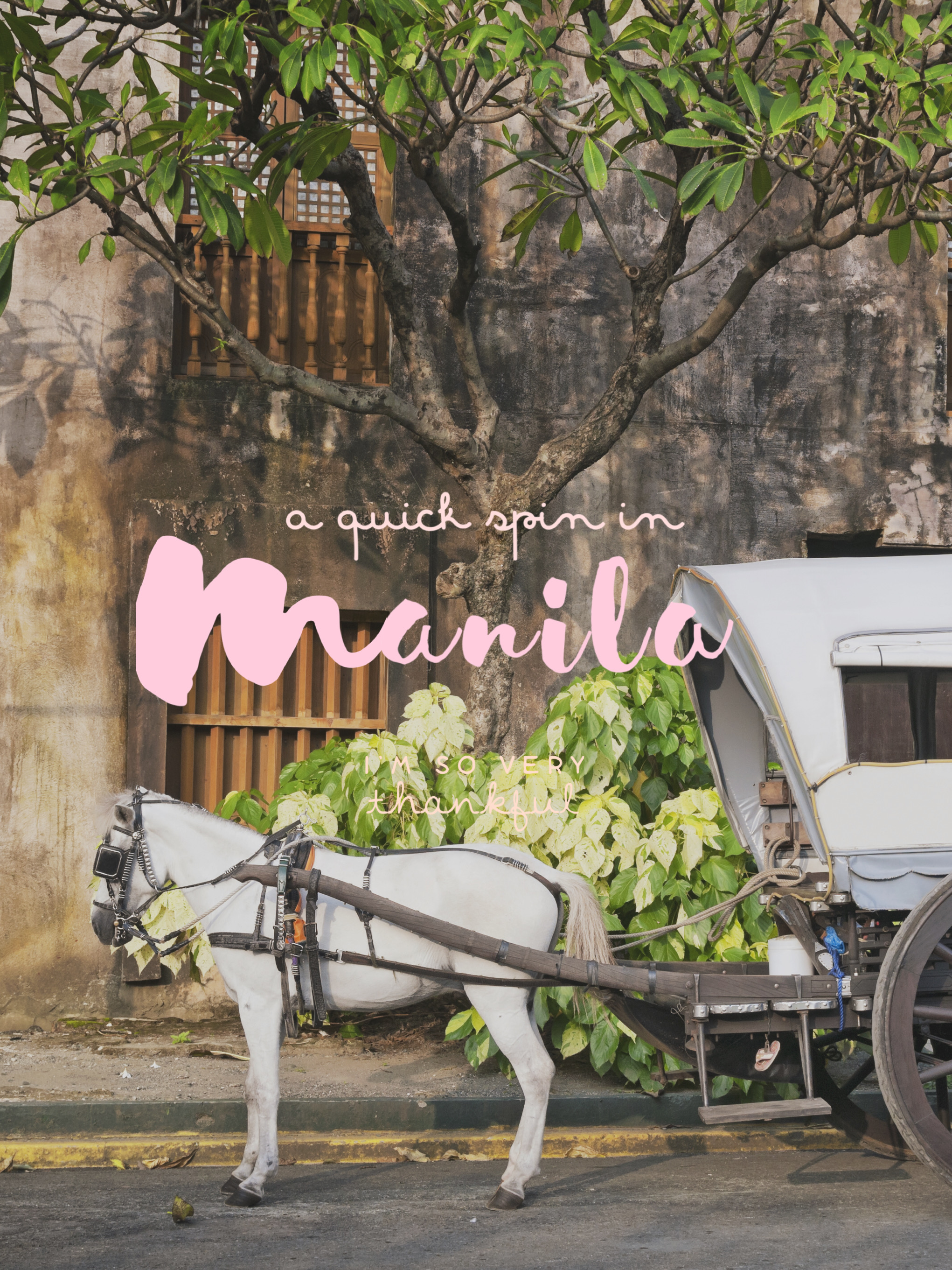 A Quick Spin in the Old Town Manila