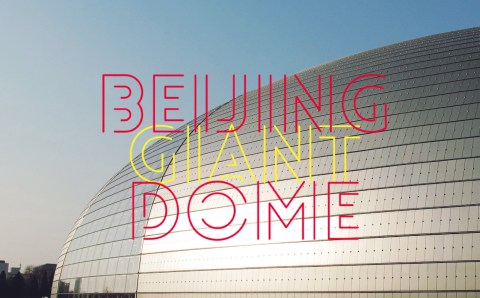The Beijing's Giant Dome