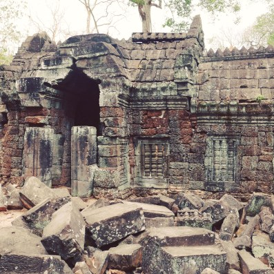 Crumbling monuments of Angkor