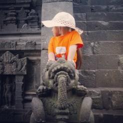Yogyakarta Java Prambanan - tourist 2