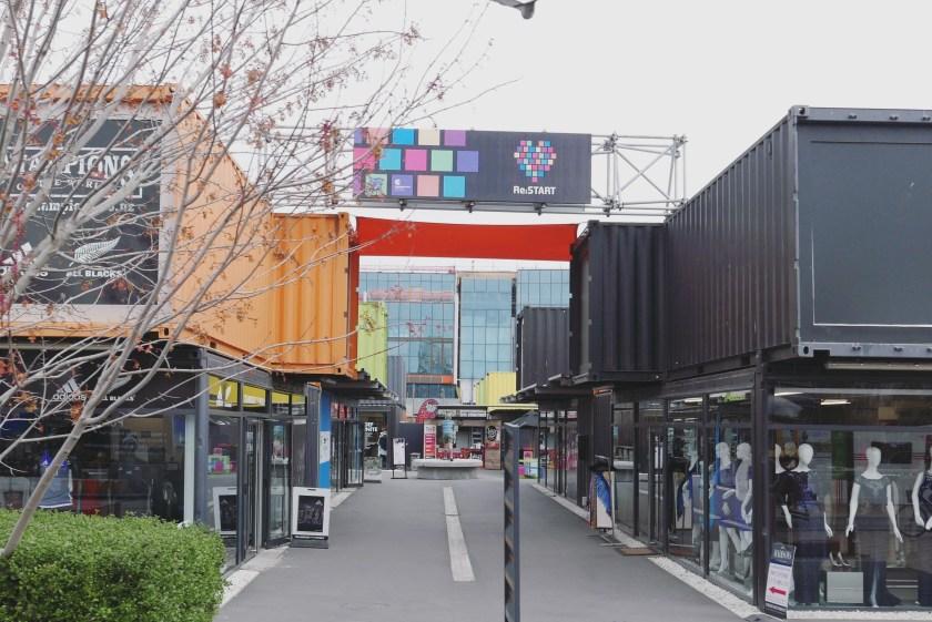 Christchurch Restart Mall