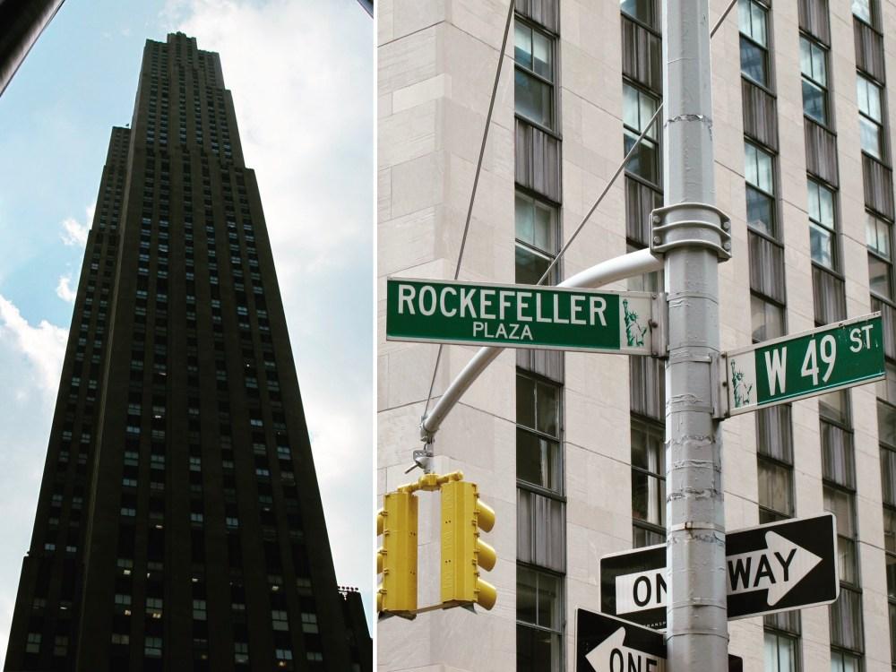 2. NYC Rockefeller Center