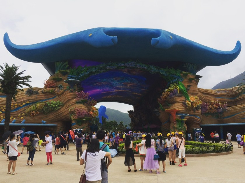 Hengqin Aqua Park - Entrance.JPG