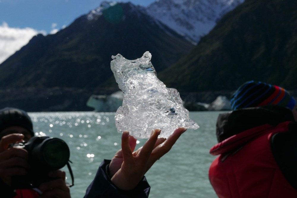 Tasman Glacier 3 - Ice