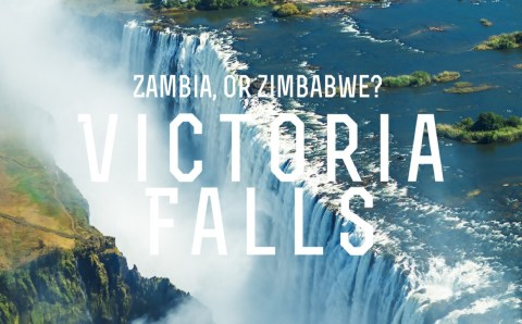 Walking through Thunder. Zimbabwe, or Zambia?