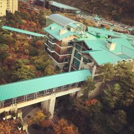 The beautiful Gonjiam resort and foliage