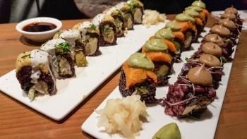 Christine Wedberg vegan sushi New York