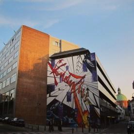Comic Book Route, Brussels, Belgium