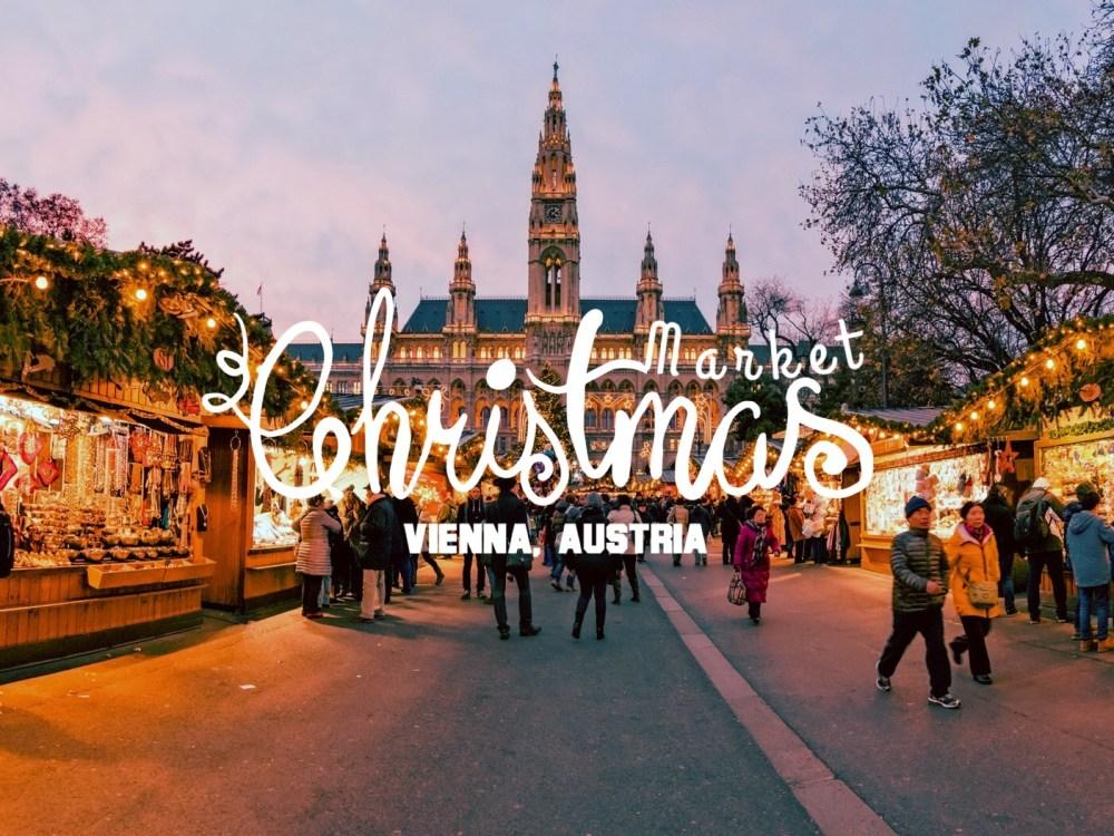 Europe Christmas Market - Vienna 1