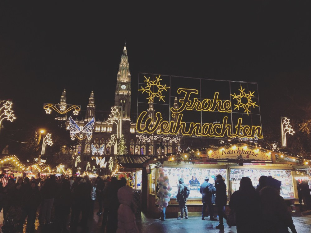 Vienna, Europe Christmas Market
