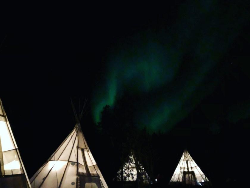 Yellowknife - Northern Lights (Village)