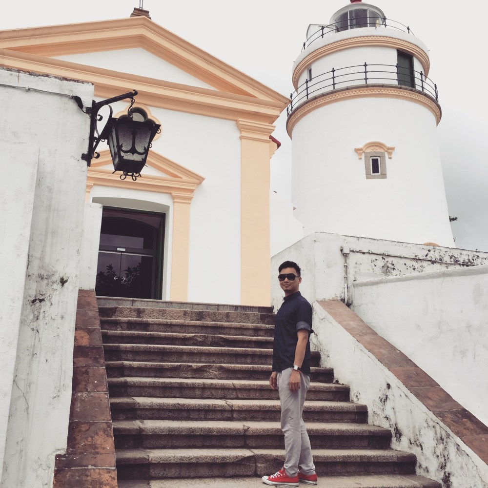Enjoy a panoramic view of the concrete jungle at the Guia Lighthouse