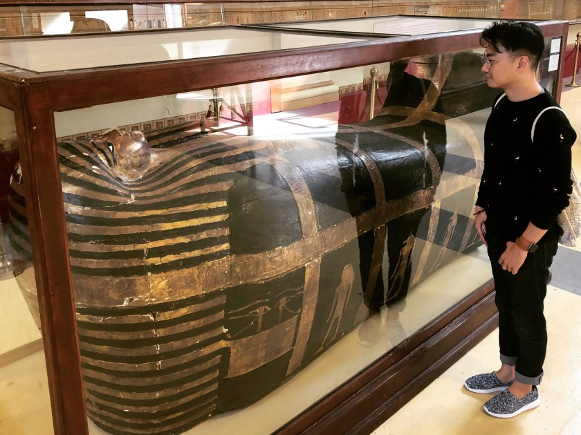 Egyptian Museum (16) - Yuya's outer anthropoud coffin