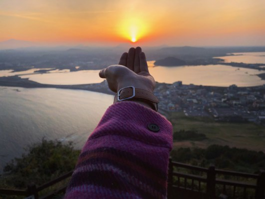 Seong San Sunrise Peak 7