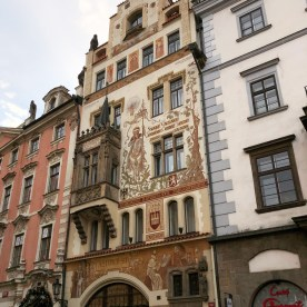 Prague Old Town Square - Storch