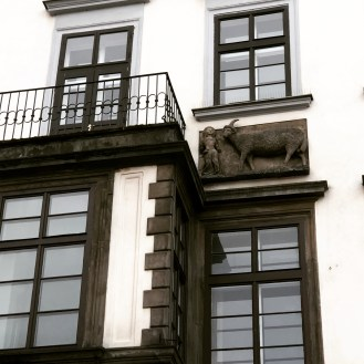 Prague - The House at the tone Lamb