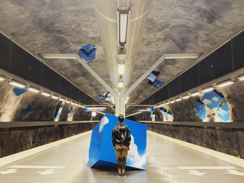 3 Stockholm Subway Solna Strand
