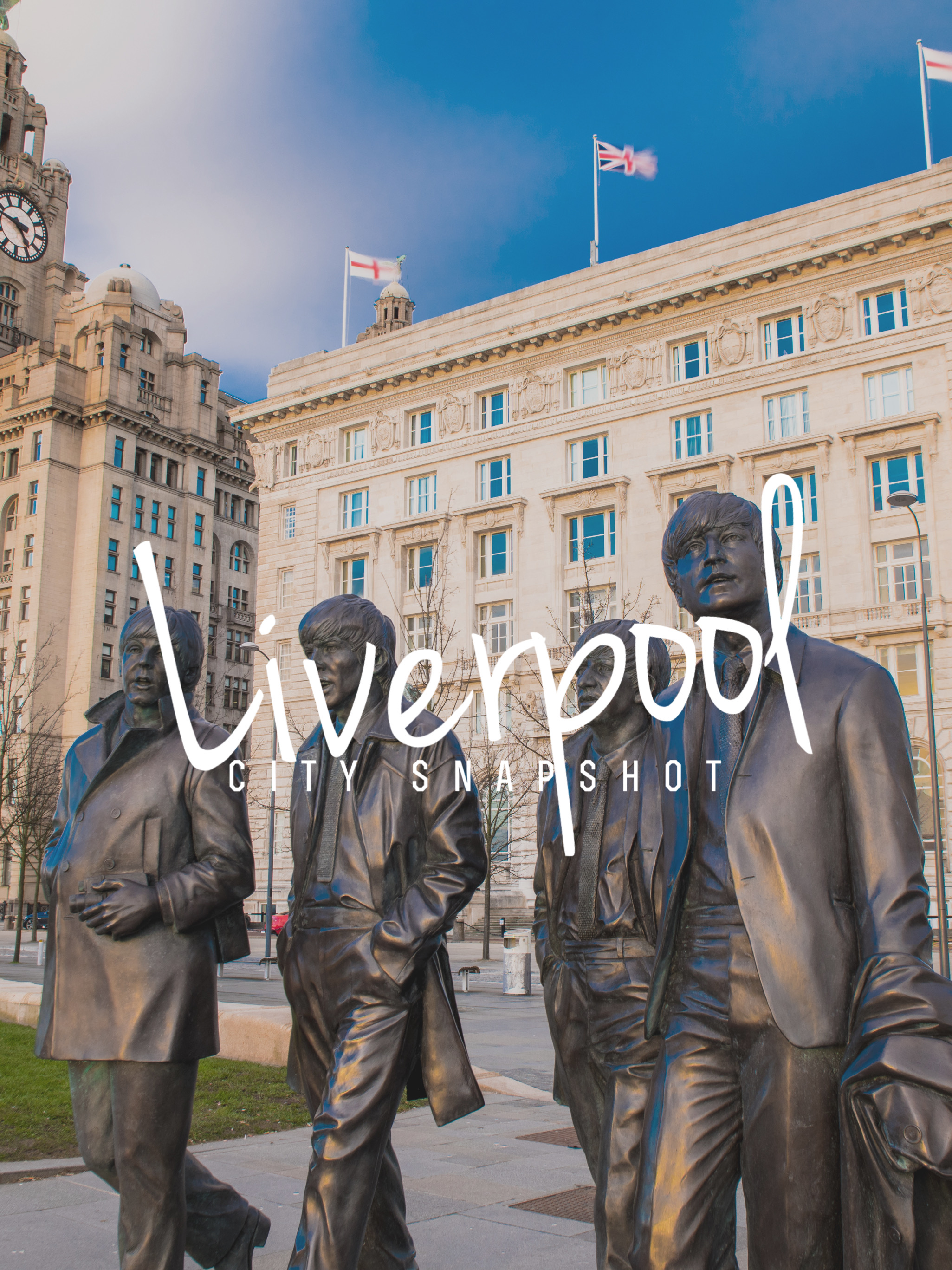 A City Snapshot of Liverpool in a Day