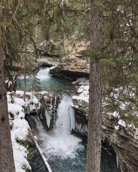 Banff (17) Johnston Canyon Lower Falls