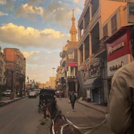 Luxor 3 Horse carriage ride 1