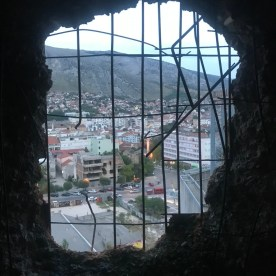 Abandoned Place in the world - 16c Sniper Tower in Mostar