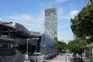 再開発が進む渋谷