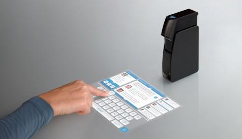 Light Touch создает чувствительную к нажатию проекцию мини-дисплея