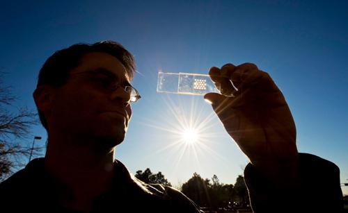 Созданы микроскопические солнечные батареи