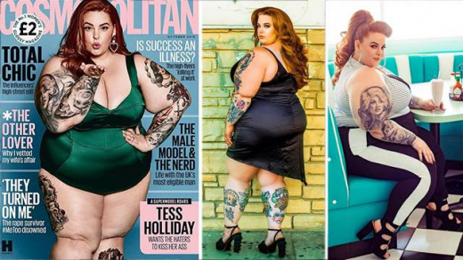 155-килограмова моделка лъсна на корицата на списание Cosmopolitan