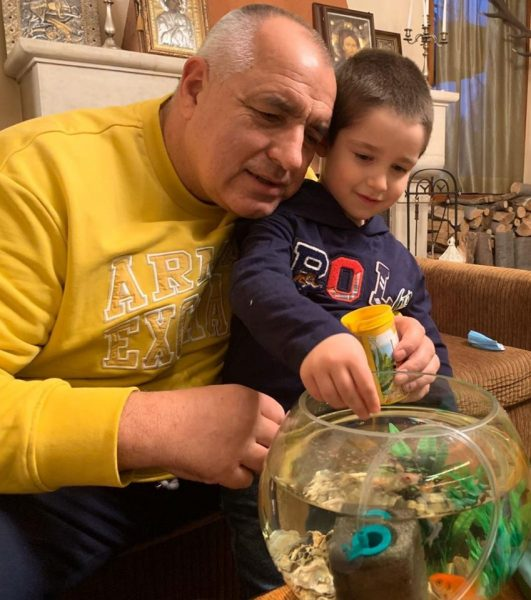 какво Бойко Борисов подари на внука
