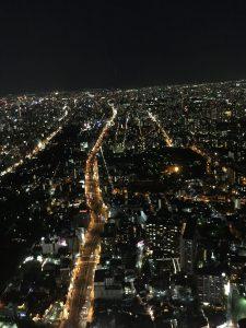 蓮貸すからの夜景は、あまりの美しさに皆テンション上がりまくり!!