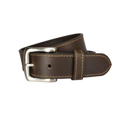 Brown Leather Belts MLB351-BRN