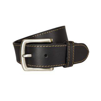 Black Leather Belts MLB401-BLK