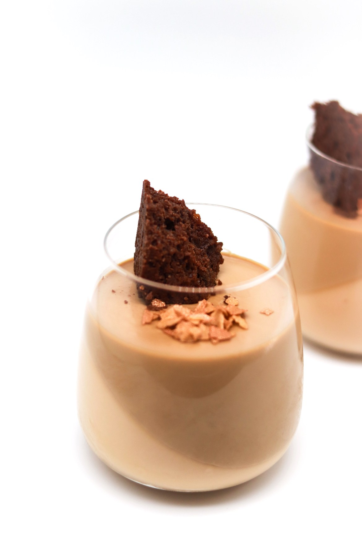 Yuen Yeung - Milk Tea Coffee Panna Cotta with Flourless Chocolate Cake3