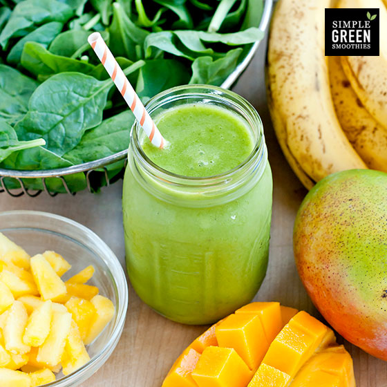 Le plein de vitamines avec les Simple Green Smoothies