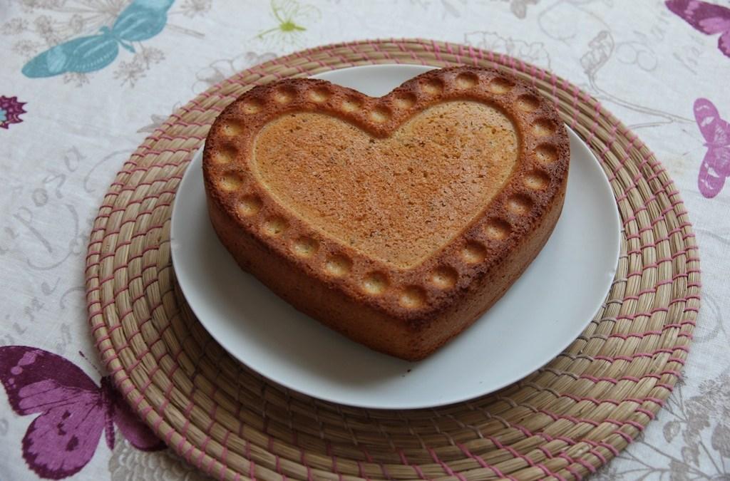 Gâteau à la bergamote et aux graines de chia