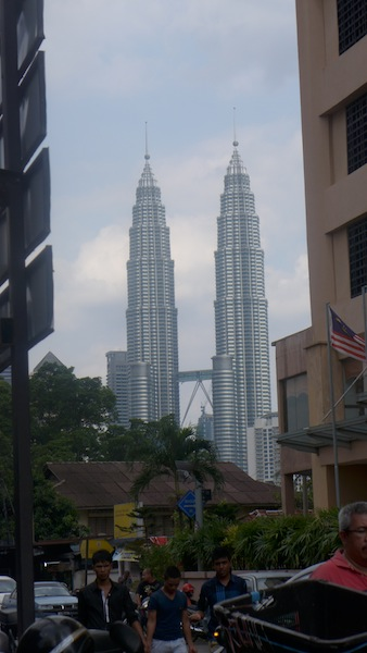 twin towers from chow kit