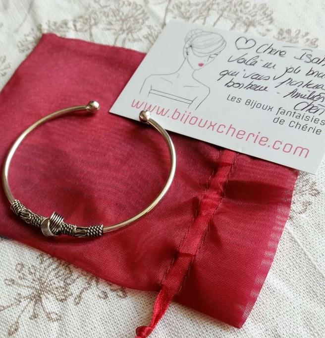 bracelet chérie