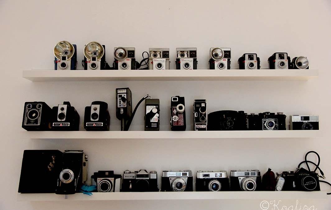 DIY : faire une lampe avec un appareil photo vintage