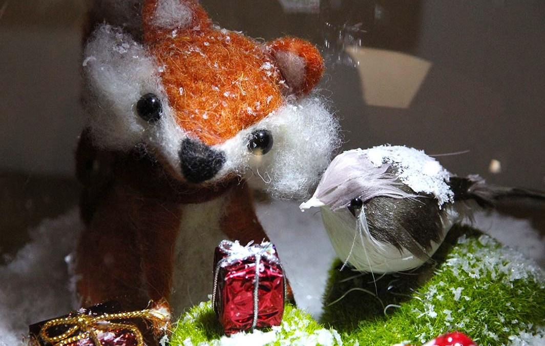 DIY de Noël : le renard et l'oiseau