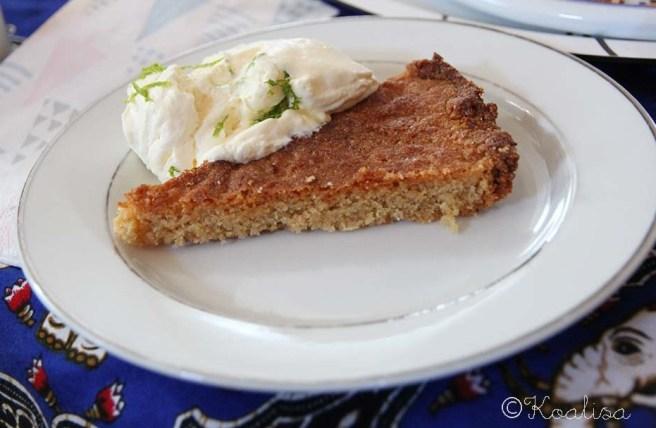 gâteau amandes chantilly passion
