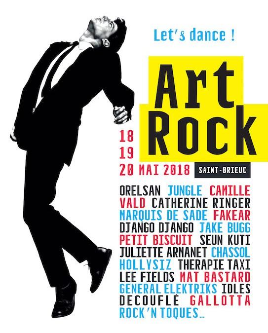 Le festival Art Rock 2018 à Saint- Brieuc